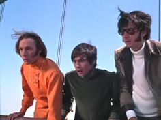 Peter, Davy, Mike