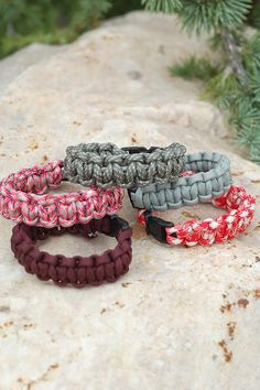 This website has several cute ideas for super Saturday.  These paracord bracelets are great for 72 hour kits.