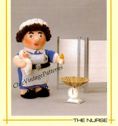 Knitting Pattern For Nurse Doll : Lion Toy Pattern .. Lion Soft Toy .. Vintage PDF Sewing Pattern .. Super Soft...