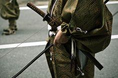 Archer samurai