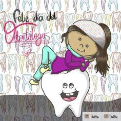 Feliz día del odontólogo a todos aquellos que buscan generar sonrisas😁 trabajando con amor 💕 #thaffiu #felizdiadelodontologo… Dental Kids, Dental Art, Love My Job, Pediatrics, Internet, Instagram, Oral Hygiene, Amor, Medicine