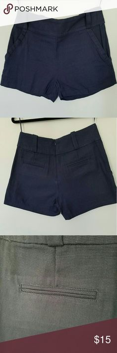 Lucca couture Navy blue shorts Lucca couture Navy blue shorts. Dress up with tights and boots or wear with sandals in the summer! Lucca Couture Shorts