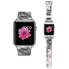 Apple Watch Strap Apple Watch Band 38MM Genuine Leather Strap Wristband With Free Adapters for Apple Watch Sport Edition 38mmA marble pattern pattern ** You can get more details by clicking on the image. (It is an affiliate link and I receive commission through sales)