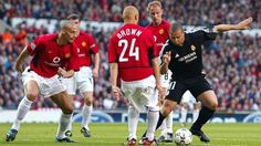 Real Madrid v Manchester United: past encounters #FansnStars