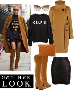 Get Her Look: Camel Accessories {& Pretty Things}