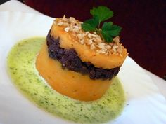 recette de cuisine parmentier d'automne boudin jus de persil