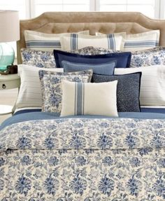 CLOSEOUT! Ralph Lauren Deauville Collection - Bedding Collections ...