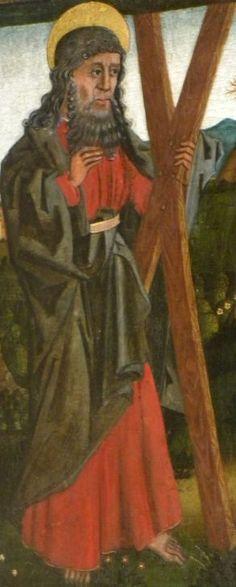 Andreas Apostel..1450. Duitsland, Meissen, Frauenkirche.