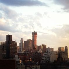 We love #NYC! #cloudporn