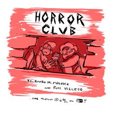 raveneesimo: Get ready for Horror Club.. A new episode of Steven Universe premiering tonight on CN, written and boarded by me and my partner Paul! Hope you enjoy….! Mwa ha ha.