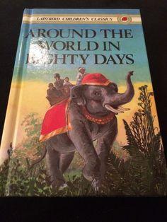 Ladybird Book, Around The World In Eighty Days  | eBay