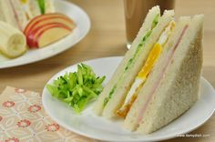 Taiwanese breakfast sandwiches (台式早餐三明治) - It's My Dish - Taiwanese breakfast sandwiches is also known as mei & mei sandwiches, you can find this everywhere - Taiwanese Breakfast, Chinese Breakfast, Entree Recipes, Asian Recipes, Asian Foods, Breakfast Sandwiches, Breakfast Recipes, Taiwanese Cuisine, Taiwanese Recipe