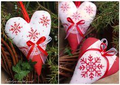 heartmade: Vánoční srdce ♥
