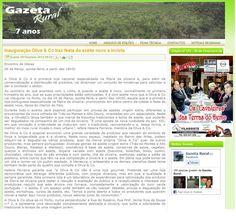 Artigo Gazeta Rural.