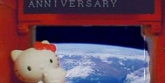Hello Kitty celebrates 40 years of space travel