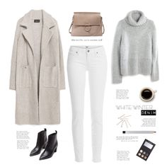 White winter jeans by yexyka