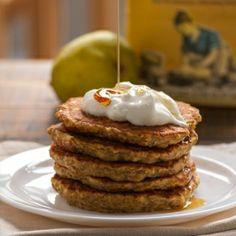 Pear & Chia Whole Wheat Pancakes
