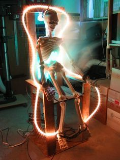 Halloween-Electric Chair