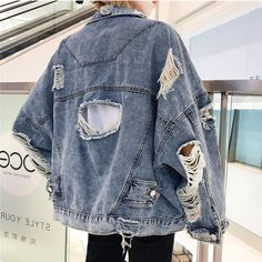 Tumblr Outfits, Grunge Outfits, Fashion Outfits, Diy Fashion, Fashion Women, Grunge Style, Ulzzang, Studios, Jean Jacket Outfits