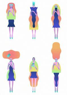 Shape Women by John Lisle, via Behance
