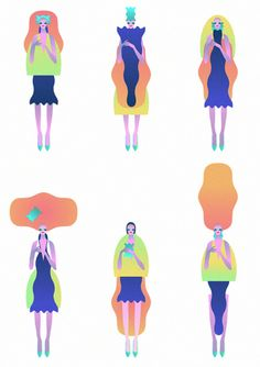 Shape Women by John Lisle, via Behance