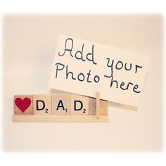 Love Dad Photo Holder