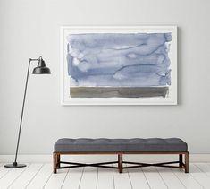 abstrakte Landschaft / moderne Landschaft / horizontale Wand Kunst Giclée-Druck von original-Aquarell. Dieser Druck wird professionell gedruckt mit einem Epson auf Fine Art Papier mit einer matten Oberfläche. Papierformat: 24 x 36 Zoll Rahmen nicht enthalten. Das Bild ist nicht