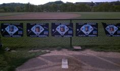 Senior Night fence banners