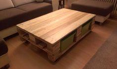 """""""収納付きのテーブルがリビングに欲しい!""""という願望はみなさんありますよね?そんな願いを叶えてくれるDYI術があるのです。作り方は本当に簡単!高さのある2つの片面型パレッ..."""