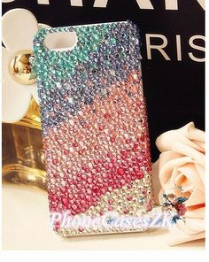 rhinestone iPhone 4 Case sparking iPhone Case iPhone4s Cover swarovski iPhone5s Case, iPhone 5c bling Case iPhone5 Cover shiny Galaxy s4 HTC on Etsy, $17.89