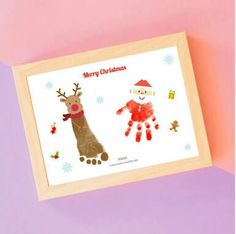 Christmas Arts And Crafts, Christmas Tree Cards, Kids Christmas, Holiday Crafts, Xmas, Toddler Arts And Crafts, Baby Crafts, Handprint Painting, Baby Footprint Art