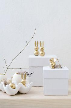 DIY Goldene Osterhas