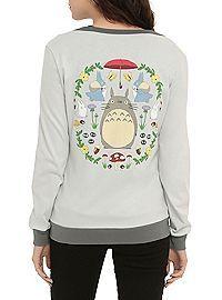HOTTOPIC.COM - Studio Ghibli Her Universe My Neighbor Totoro Dream Garden Girls Cardigan