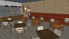 cervejaria - INTERIORES II - 3D Warehouse