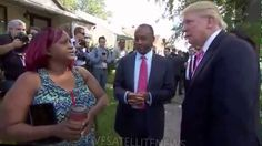 Donald Trump and Ben Carson Visit Ben's Childhood Detroit Home (9-3-16)