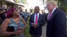 Donald Trump and Ben Carson Visit Ben's Childhood Detroit Home (9-3-16)
