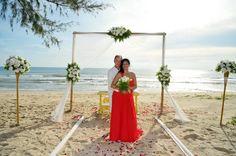 Phuket Buddhist Blessing Phuket Wedding, Thailand Wedding, Destination Wedding, Blessing, Table Decorations, Beach, The Beach, Destination Weddings, Beaches