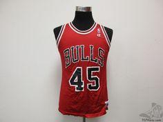 Vtg 90s Champion Chicago Bulls Michael Air Jordan #45 Basketball Jersey sz 40 #Champion #ChicagoBulls  #tcpkickz