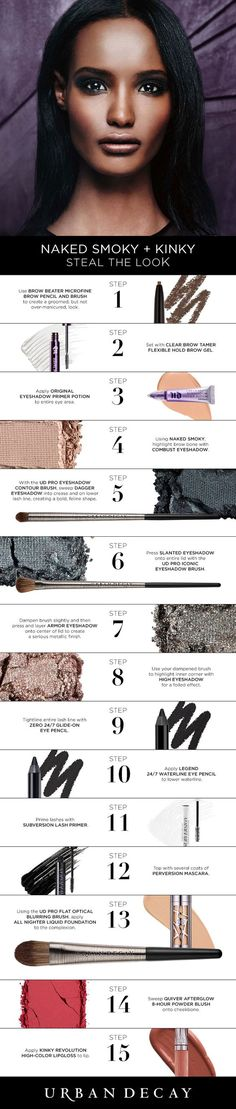 A Step-by-Step Guide to Applying Makeup  Put on cosmetics in the right sequence for the best effect and minimal mistakes.  affiliate link