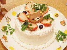 Rillakuma cake