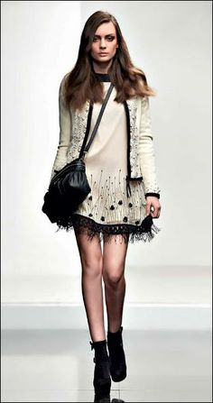 Twin-Set Simona Barbieri Dress | #fashion #twinsetsimonabarbieri #2014 #australia