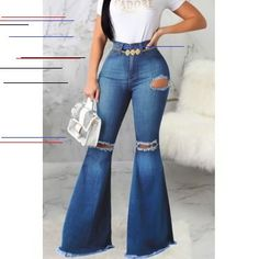 Black Friday Women's Bootcut Jeans top online fashion store for women. Shop sexy club jeans, shoes, bodysuits, skirts and more . High Waisted Flares, Denim Flares, Sexy Jeans, Blue Jeans, Estilo Jeans, Wholesale Clothing, Shoes Wholesale, Cheap Jeans, Cheap Shoes Online