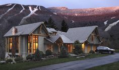 HGTV Dream Home in Stowe, Vermont - this is house Danielle entered to win!