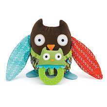 (4KK)Skip Hop Hug & Hide Stroller Toy - Owl