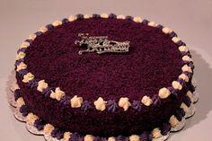 Edible Heaven: Ube & Macapuno Cake
