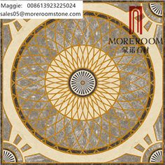 Beautiful Pattern Marble Design, Water Jet Natural Marble for Hall Design…