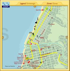 39 Best Maps Of Puerto Vallarta Images Mexico Destinations Maps