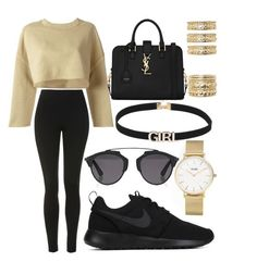 """""""160."""" by plaraa on Polyvore featuring CLUSE, Topshop, adidas Originals, NIKE, Forever 21, Yves Saint Laurent and Christian Dior"""