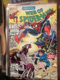 Web of Spider-man #91 VF Marvel Comics nice gloss and color Free Shipping
