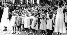 Primary sources with questions and answers on Women in Nazi Germany. Key Stage GCSE Modern World History - Nazi Germany. A-level - Life in Nazi Germany, Nazi Propaganda, Raza Aria, Aryan Race, Service Public, German Girls, The Third Reich, Kirchen, World War Two, Wwii